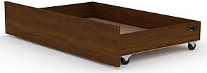 Ящик выдвижной для кроватей Классика и Модерн КОМПАНИТ Орех экко (99.7х61.6х19 см)