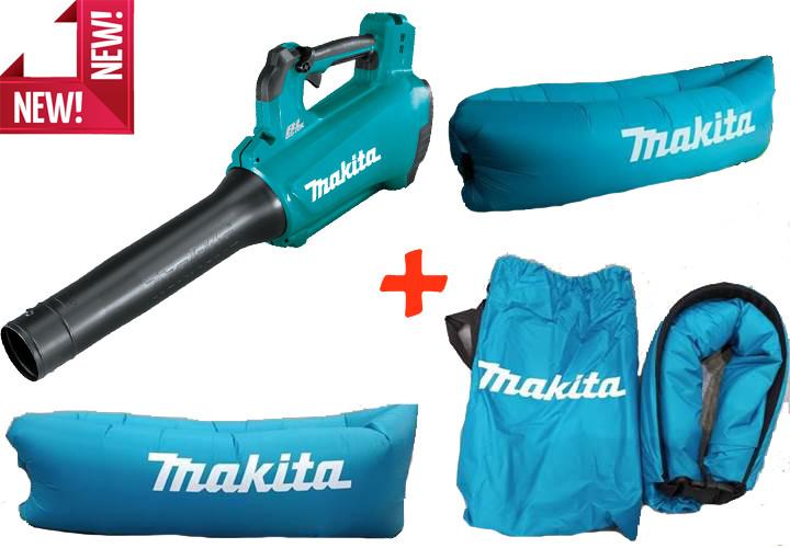 Аккумуляторная бесщеточная воздуходувка Makita DUB184Z (без АКБ) + надувной диван (SOFADUB184Z)