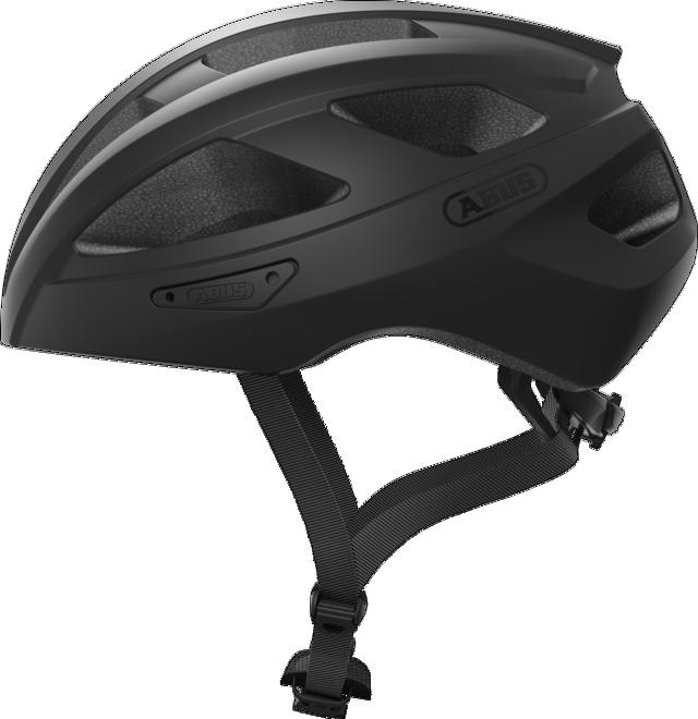Велошлем спортивный ABUS MACATOR Velvet Black M (52-58 см)