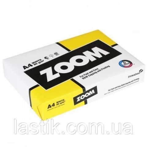 Бумага ZOOM А4 , 80г/м, 500 листов