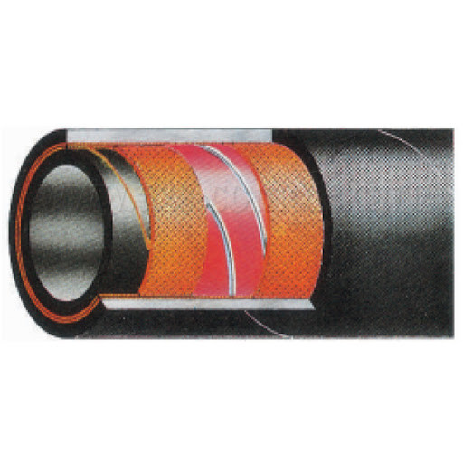 Рукав напорно-всасывающий маслобензостойкий YAKIT SD/10 BAR 100мм
