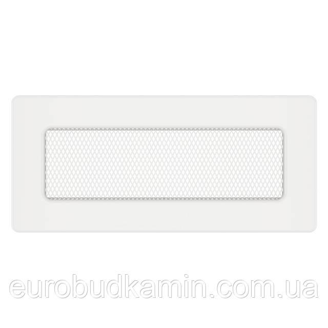 Вентиляційна решітка для каміна SAVEN 11х24 біла