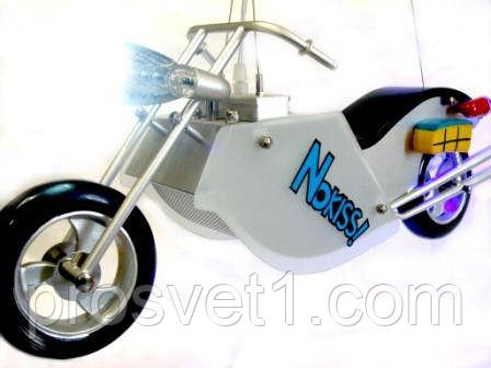 Люстра детская мотоцикл (80019/2 Крам)
