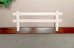 """Белый защитный бортик для детской кровати """"Масу"""" 116 см., фото 3"""