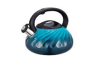 Чайник нержавеющий Maestro - 3 л синий (MR-1321-Blue), (Оригинал)