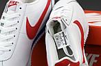 Мужские кроссовки Nike Cortez (бело-красные) 12147, фото 7