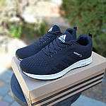 Женские кроссовки Adidas NEO (черно-белые) 20059, фото 5