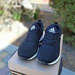 Женские кроссовки Adidas NEO (черно-белые) 20059, фото 7