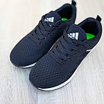 Женские кроссовки Adidas NEO (черно-белые) 20059, фото 9
