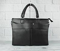 Кожаный портфель, сумка для документов Montblanc 8367-2 формата А-4