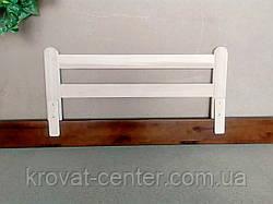 """Дерев'яний захисний бар'єр для дитячого ліжка """"Масу - 2"""" (колір на вибір) 98 див., фото 3"""