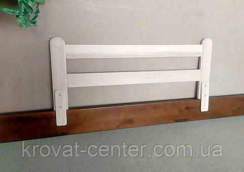 """Дерев'яний захисний бар'єр для дитячого ліжка """"Масу - 2"""" (колір на вибір) 98 див., фото 2"""