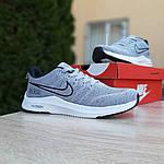Мужские кроссовки Nike ZOOM (серые) 10073, фото 4