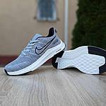 Мужские кроссовки Nike ZOOM (серые) 10073, фото 7