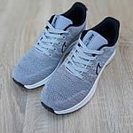 Мужские кроссовки Nike ZOOM (серые) 10073, фото 8