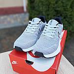 Мужские кроссовки Nike ZOOM (серые) 10073, фото 9