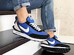 Мужские кроссовки Nike Undercover Jun Takahashi (сине-черные с белым) 9220, фото 4