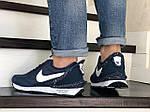 Мужские кроссовки Nike Undercover Jun Takahashi (темно-синие с белым) 9224, фото 3