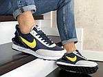 Мужские кроссовки Nike Undercover Jun Takahashi (темно-синие с желтым) 9226, фото 4