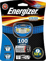 Налобный фонарик Energizer VISION LED 100 люменов фонарь, фото 1