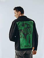 Джинсовая куртка Staff hand made c1. [Размеры в наличии: XS,S,M,L,XL]
