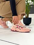 """Женские кожаные кроссовки Adidas Ozweego """"W Ice Pink"""" 9403, фото 5"""