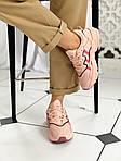 """Женские кожаные кроссовки Adidas Ozweego """"W Ice Pink"""" 9403, фото 6"""