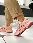 """Женские кожаные кроссовки Adidas Ozweego """"W Ice Pink"""" 9403, фото 7"""