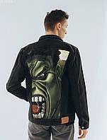 Джинсовая куртка Staff hand made c8. [Размеры в наличии: XS,S,M,L,XL]