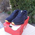 Мужские кроссовки Nike ZOOM (черно-оранжевые) 10070, фото 4