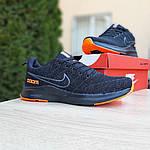 Мужские кроссовки Nike ZOOM (черно-оранжевые) 10070, фото 8