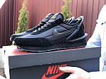 Мужские кроссовки Nike Undercover Jun Takahashi (черные) 9221, фото 3