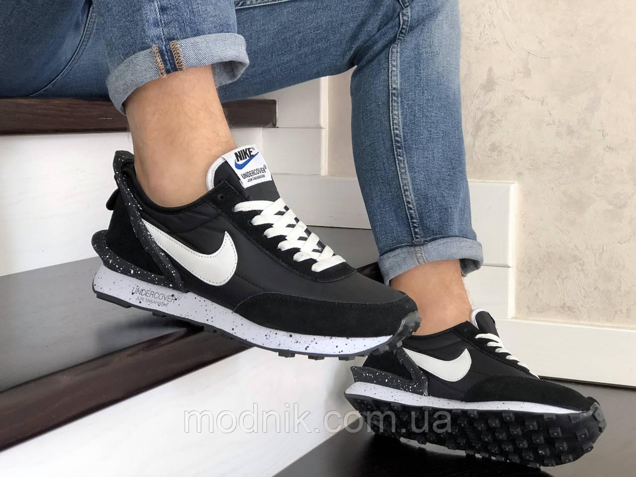 Мужские кроссовки Nike Undercover Jun Takahashi (черно-белые) 9222