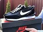 Мужские кроссовки Nike Undercover Jun Takahashi (черно-белые) 9222, фото 3