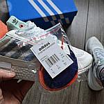 Мужские кроссовки Adidas ZX 500 (белые), фото 3