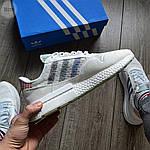 Мужские кроссовки Adidas ZX 500 (белые), фото 5