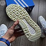 Мужские кроссовки Adidas ZX 500 (белые), фото 6
