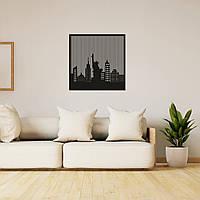 Оригинальная интерьерная картина из дерева «Нью-Йорк», фото 1
