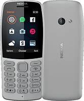 Кнопочный мобильный телефон с камерой и блютузом на 2 симки Nokia 210 DS Grey