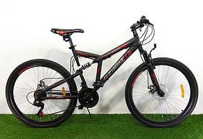 """Велосипед горный двухподвесный Dinamic 26"""", рама 18,5"""", FRD BLACK-YELLOW, фото 2"""