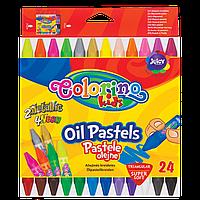 Пастель масляная 24 цвета, Colorino