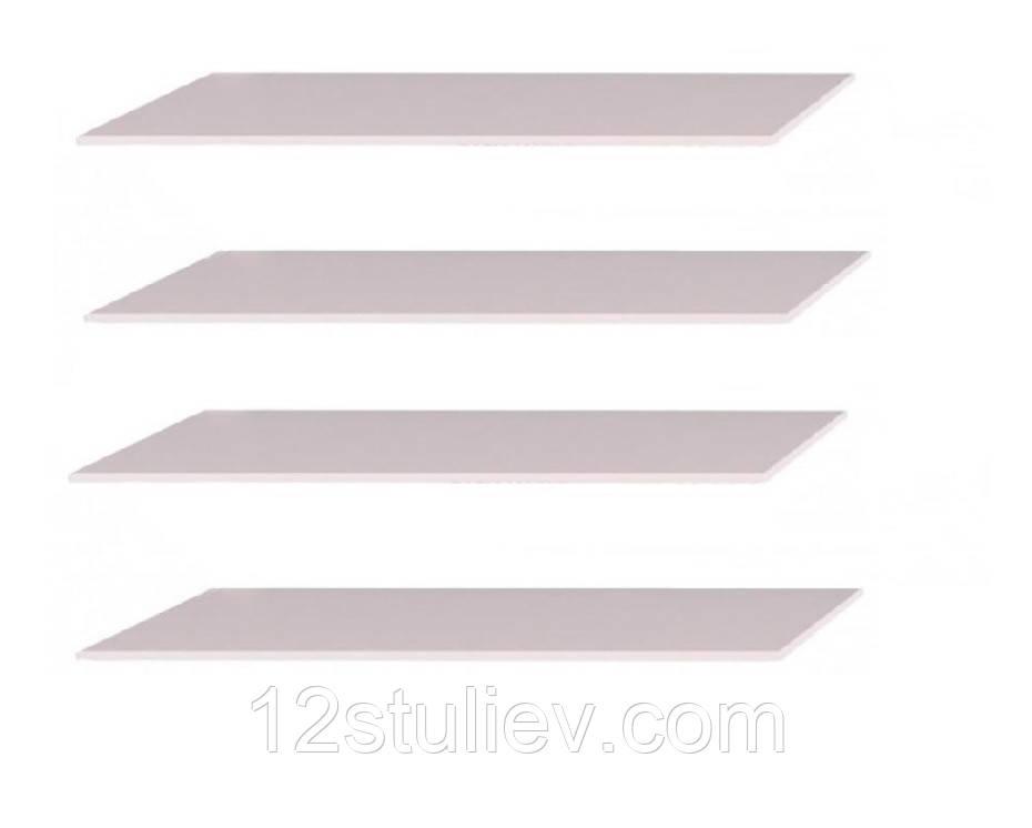 Додаткова опція полиці Довгі (4шт) Шафа 3+4+6дв Белла,Імперія (Серія Т)
