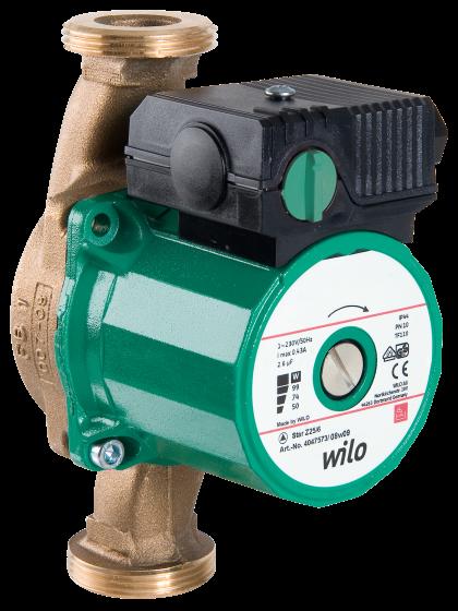 Насосы циркуляционные с мокрым ротором Wilo-Star-Z , WILO (Германия)