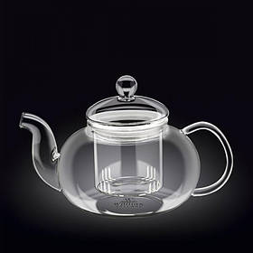 Чайник-заварник Wilmax Thermo 800 мл с фильтром из стекла 888813 WL