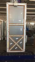 Двери межкомнатные в стиле Лофт из 6-камерного профиля WDS 850х2200 мм