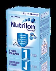 Суміш молочна суха Nutrilon 1 для дітей від 0 до 6 місяців 600 гр.
