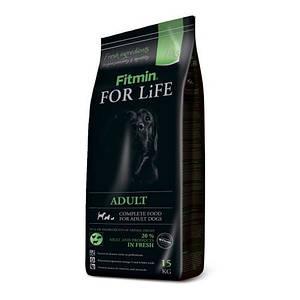 Fitmin For Life Adult all breeds 3 кг. Корм для взрослых собак всех пород