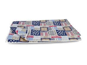 Одеяло-покрывало Leleka-textile Евро 200*220 см поликоттон/холлофайбер стеганое летнее П404, фото 2
