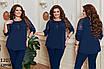 Блуза короткий рукав софт гіпюр 50-52 54-56 58-60, фото 3
