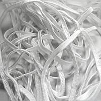 Резинка плоская белая, 3.5 мм для масок